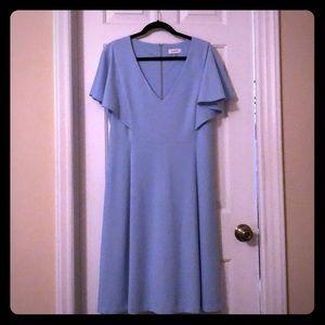 Robin's Egg Blue CalvinKlein Dress Size 16